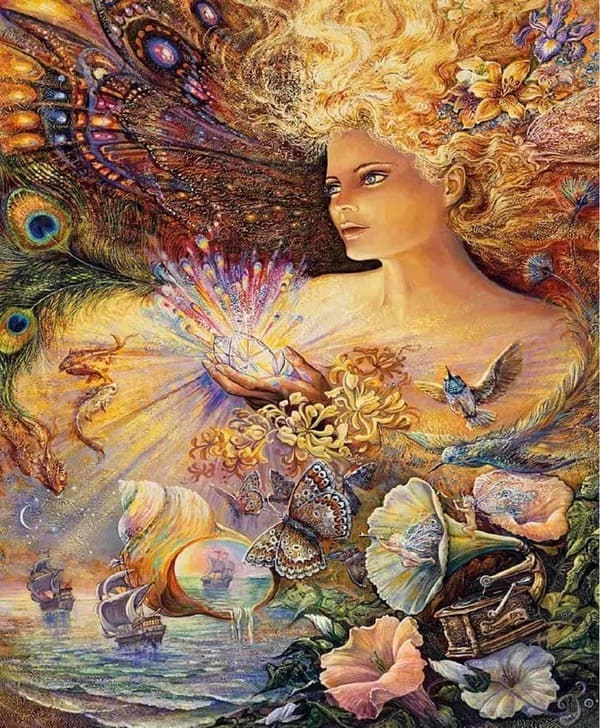 Puzzles - Josephine Wall - Crystal of Enchantment (Glitter Edition) - 1000 Piece #Jigsaw #Puzzle #poster #prints #photo #DiY #vintage #toys- Best Selling Products 2021