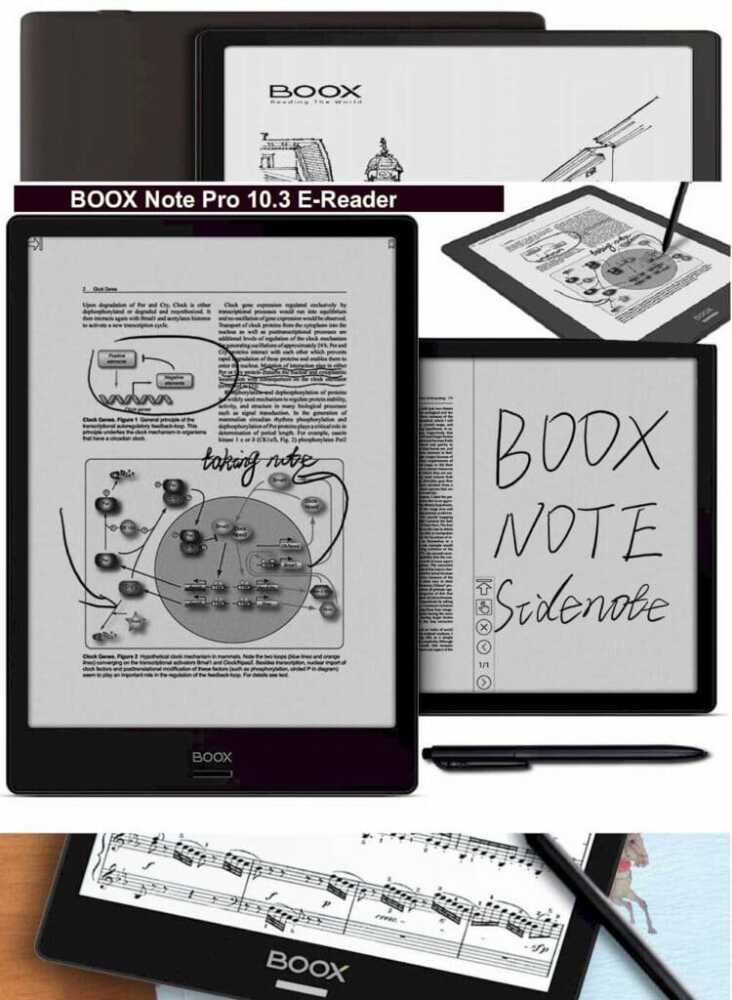 BOOX Note Pro 10.3 Book Reader 2021