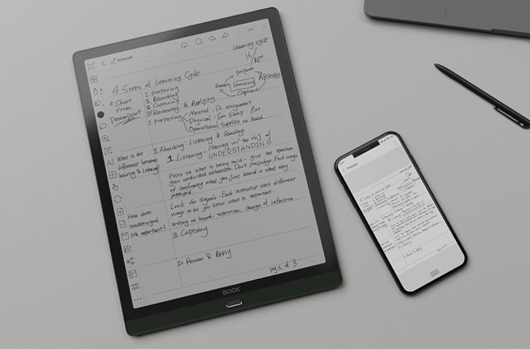 Cloud Push Screensaver Images - BOOX Max Lumi 13.3 ePaper 2021