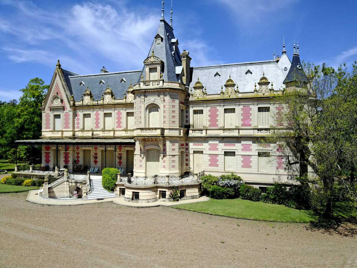 The Huetel Palace (Chateau Huetel, Louis XIII Style)