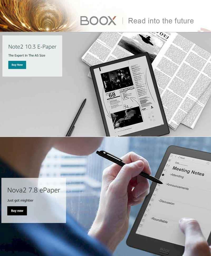 Onyx boox - Best digital notepad 2021