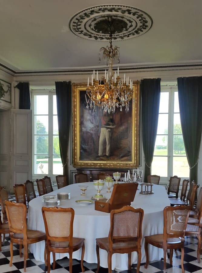 Dining room at the Castle of Valencay - Câreme style -Talleyrand gourmet food