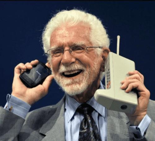 Martin Cooper and Motorola DynaTac 8000X - Power Bank History