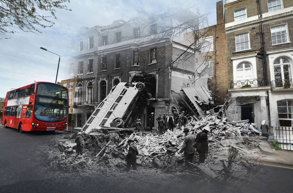 London Photos 75 Years Later