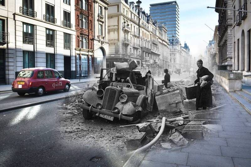 Pall Mall - What was London Like in 1940?