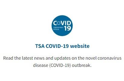TSA Covid 19 Website