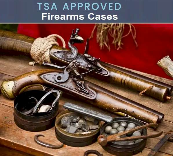 Firearms TSA Rules 2021 - What Can i Take on an Airplane? Firearms case on Amazon