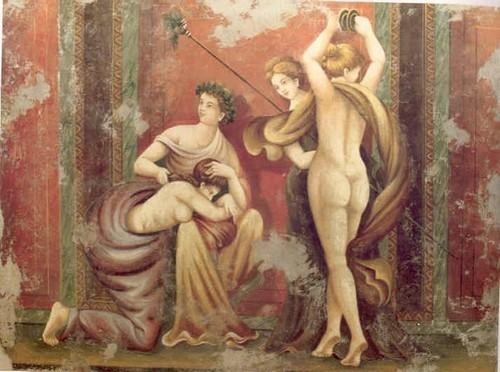 Pompeii Nude Frescoes