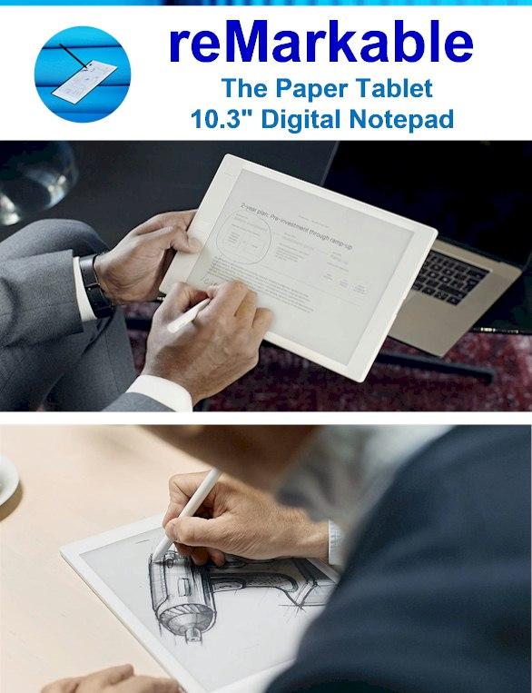 eInk Notepad -Digital Paper Reviewed 2021 - ReMarkable