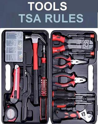 Household & Tools - Tools TSA Rules 2021